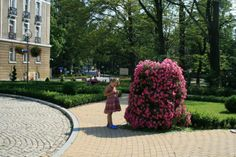 flower towers in parks