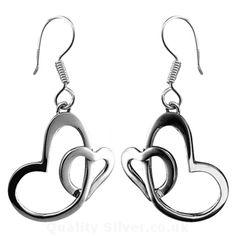 Tianguis Jackson Silver Heart Earrings http://www.qualitysilver.co.uk/Jewellery/Tianguis-Jackson-Silver-Drop-Earrings.html
