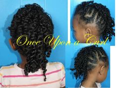 natural hair styles for little girls | once upon a curl ponytails pigtails and beads hair styles