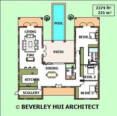 12 Ideas shipping container homes floorplans courtyard house for Shipping Container House Plans Ideas 38 U Shaped House Plans, U Shaped Houses, Pool House Plans, Courtyard House Plans, Small House Plans, Single Storey House Plans, Container Design, Sea Container Homes, Shipping Container Home Designs