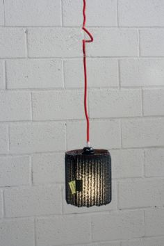 LUCY - #pendant #lamp with #black polypropylene shade - #Product of #Italy - www.lab145.it - www.facebook.com/lab145