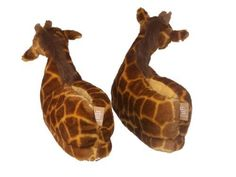 giraffe slippers!!! <3
