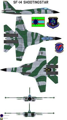 SF-14 Shootingstar  aggressor 3 by bagera3005.deviantart.com