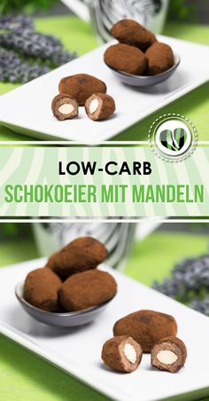 Low carb chocolate eggs with almond kernel- Low Carb Schokoeier mit Mandelkern The chocolate eggs with almonds are delicious, lowcarb, lchf, gluten free and super yummy. In addition, they fit perfectly with Easter. Low Carb Desserts, Low Carb Recipes, Dog Food Recipes, Snack Recipes, Dessert Recipes, Healthy Recipes, Paleo Dessert, Easter Recipes, Easter Ideas