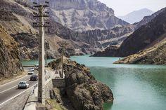 Amir Kabir dam, also known as Karaj dam, near Tehran, Iran (in Persian: سد کرج) (photo by ninara - flicker)