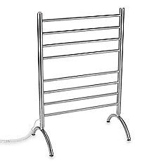 image of Myson Standing 8-Bar Towel Warmer in Stainless Steel