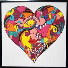 Love  Wenskaart + envelop