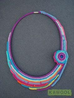 [Crochet Necklace] Kawool Catarina Pereira