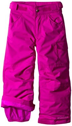Columbia Little Girls' Starchaser Peak II Pant, Bright Plum - http://our-shopping-store.com
