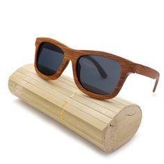 76.49$  Watch here - http://ali6qt.worldwells.pw/go.php?t=32702053952 - BOBO BIRD Red Wood Bamboo Polarized Sunglasses Mens Glasses UV 400 Protection Eyewear in Original Box