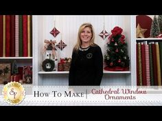 Get In The Holiday Spirit With This DIY Cathedral Window Ornament! – Crafty House