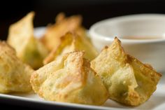 Jalapeno Cream Cheese Filled Wontons. First had these at Quintessential restaurant/bar in St. Charles, MO and had to duplicate the recipe on my own after that, because OMG! Heaven in a wonton!