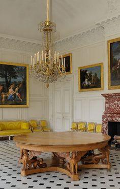 Vue actuelle de l 39 antichambre du grand couvert de la reine ch teau de versailles pinterest - Residence grand siecle versailles ...
