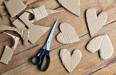 Rustic valentines you won't want to take down... or give away. Oops...