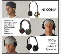 Kusursuz ses, kusursuz tasarım Nixon Kulaklıklar LUXViTRiN'de  https://www.luxvitrin.com/marka/nixon-kulaklik