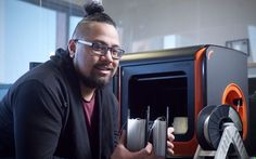 Student Lionel Taito-Matamua designs system to convert plastic pollution into 3D printing filament. (Click for story)