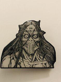 Epoxy Pin AlaricBarca666.bigcartel.com Metal T Shirts, Epoxy, Drawings, Art, Art Background, Kunst, Sketches, Performing Arts, Drawing