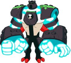Four Arms Ben 10 Cartoon Network Television Show Reboot PNG Ben 10 Alien Force, Ben 10 Omniverse, Blossom Bubbles And Buttercup, Ben 10 Birthday, Aliens, Ben 10 Ultimate Alien, Digimon Adventure 02, Four Arms, Hero Time