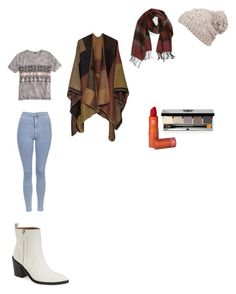 """""""First day of winter"""" by mfossy on Polyvore featuring Bettye Muller, Echo, prAna, Topshop, J.Crew, Lipstick Queen and Bobbi Brown Cosmetics"""
