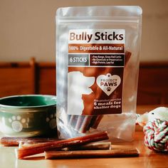 Happy, Healthy™️ All-Natural Free-Range & Grass-Fed Bully Sticks: Every Stick Gives A Meal To A Shelter Dog pack) Coconut Oil For Dogs, Bully Sticks, Oils For Dogs, Dog Anxiety, Best Teeth Whitening, Organic Turmeric, Dog Teeth, Homemade Dog Treats, Dog Chews