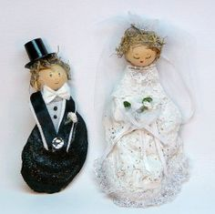 Oyster Bride and Groom