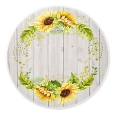 Shop Rustic Sunflowers Ceramic Knob created by sharonrhea. Ceramic Knobs, Ceramic Plates, Decorative Plates, Vintage Diy, Cute Wallpapers, Wallpaper Backgrounds, Pin Up Drawings, Sunflower Wallpaper, Instagram Highlight Icons