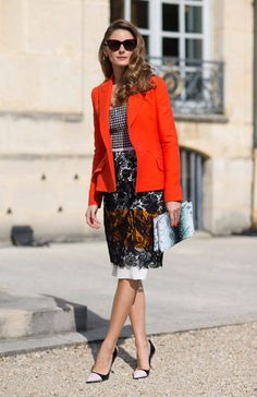 Olivia Palermo, Paris Fashion Week Spring 2014   Harper's Bazaar Street Style