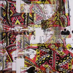 Kings Dress- SS14- Collection- Art on Fashion- Jean- Francois Dupuis