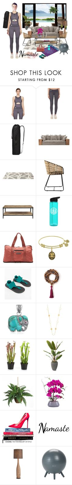 """""""Yoga"""" by thymagine ❤ liked on Polyvore featuring adidas, M Z Wallace, Somerset Bay, Gaiam, sanuk, Bling Jewelry, Rebecca Joseph, John-Richard and Nearly Natural"""