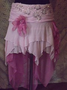 Matilda is Dancing Upcycled Gypsy Calypso Skirt by UpcycledRose, $65.26