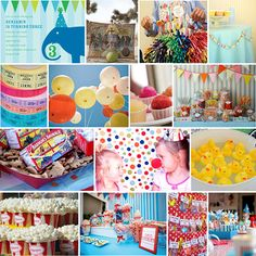 A Ton Of Kids Party Themes