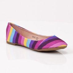 Rainbow Flats #rainbow #flats