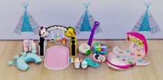 Nursery Clutter by DreamTeamSims   Sims 4 CC's -... - Sims 4 CC's - The Best