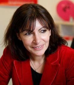 YEUX CHARBONNEUX, DENTS QUI RAIENT LE PARQUET DE LA GLOUARE ( MOUA-JE), LARGES NARINES, C'EST POUR MIEUX RESPIRER, MON ENFANT... Anne HIDALGO