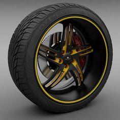 Savini Forged SV-20S Wheel and Tire