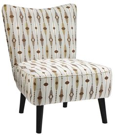 Draper Slipper Chair - Accent Chairs - Seating - Living Room - Furniture   HomeDecorators.com