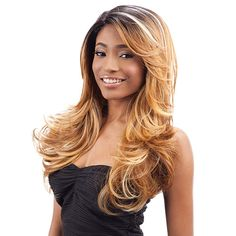 Model Model Synthetic Lace Front Wig Deep Invisible Part Lace Wig Siri