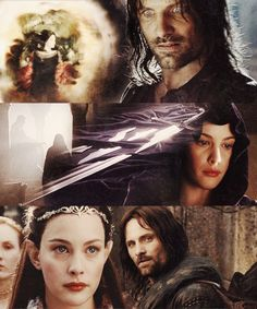 Arwen and Aragorn ~ The Lord of the Rings Movies Fellowship Of The Ring, Lord Of The Rings, Aragorn And Arwen, Into The West, Jackson, Jrr Tolkien, Gandalf, Sci Fi Fantasy, Great Stories