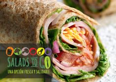 Gánate un bono saludable para que disfrutes el delicioso y fresco menú de Salads To Go.   Participa aquí https://www.sorteandoyganando.com/sorteo-bono-saludable-de-salads-to-go