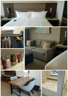 Renovated Guest Rooms at the Marriott Coronado Island Resort and Spa