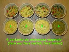 Nu ma gandisem sa fac aceasta postare (adica la aceasta reteta), dar pentru ca am fost intrebata pe facebook, m-am gandit sa va scriu repede o varianta sanatoasa de salata de legume fierte cu maioneza vegana (apoi o transformati cum vreti voi). Nu are gustul identic cu salata de beouf (cum mi-ati cerut) pentru… Vegan Sauces, Appetisers, Guacamole, Vegan Vegetarian, Dips, Mexican, Cornelius, Homemade, Dressings