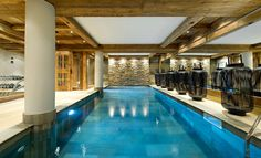 The Petit Chateau, a Luxury Ski Chalet in the French Alps