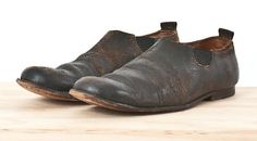 Distressed Slip-On Shoe by Paul Harnden