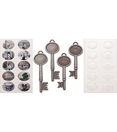 Tim Holtz Idea-Ology Collage Keys