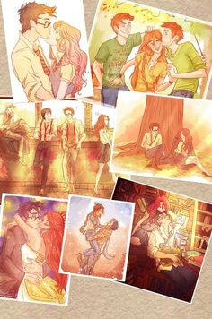 Harry and ginny art by viria Harry Potter Couples, Cute Harry Potter, Harry James Potter, Harry Potter Quotes, Harry Potter Fan Art, Harry Potter Characters, Gina Weasley, Harry Potter Background, Harry And Ginny