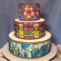 Ill Never Be This Good But Is Amazing Glass Cakes Gorgeous