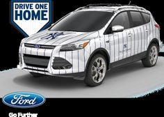 New York Yankees Special Edition 2012 Ford Escape.