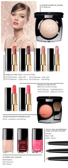 In love with Chanel Spring 2013 The best hues out there! Can't seem to get myself to wear anything else!