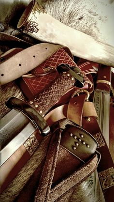 Belts 'n Swords.