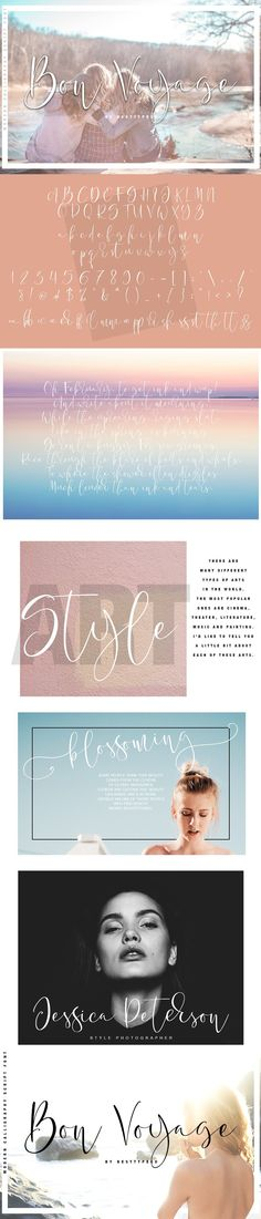 This font you can see in my bundle: --- Bon Voyage - a new fresh handmade calligraphy font. --- Very suitable for greeting cards, branding materials, business Wedding Postcard, Cute Fonts, Branding Materials, Calligraphy Fonts, Stationery, Greeting Cards, Blog, Movie Posters, Handmade